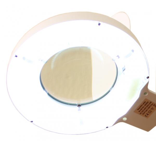 Лампа с лупой настольная 8D