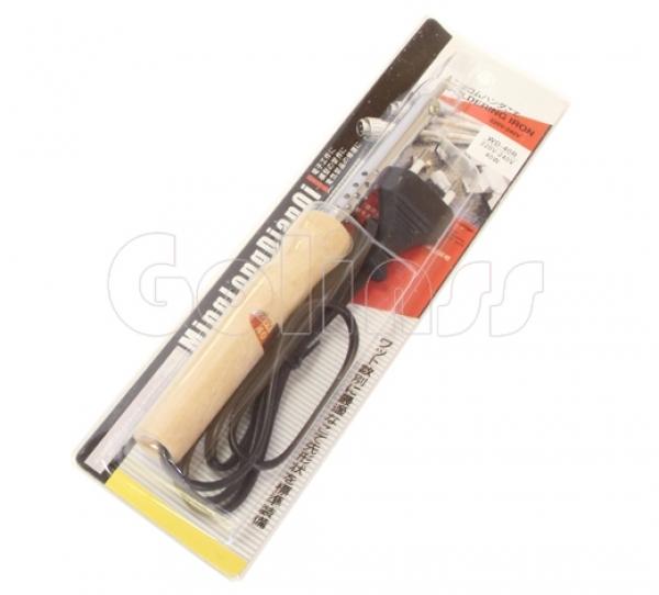 Паяльник с деревянной ручкой 40W