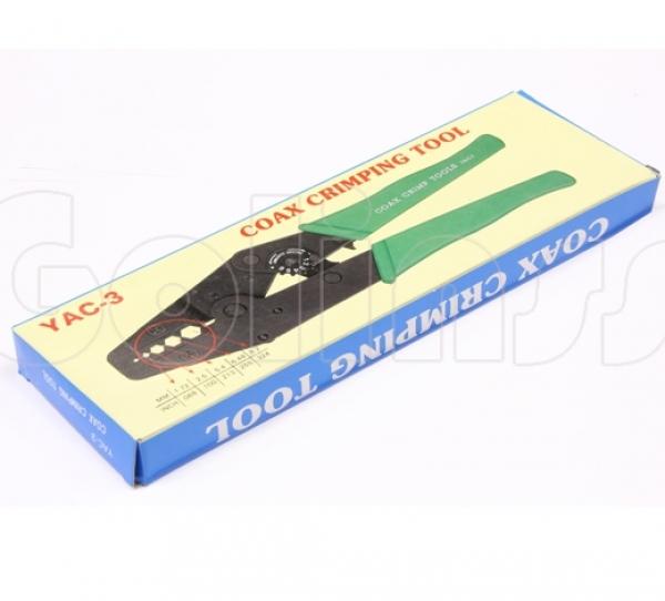 Инструмент обжимной YAC-3, кримпер для обжима BNC и TNC разъемов