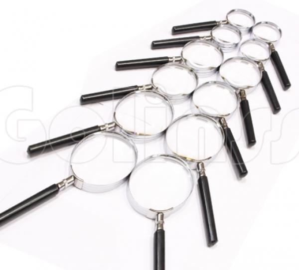"""Лупы, набор оптических луп из 12шт  """"Классик"""""""