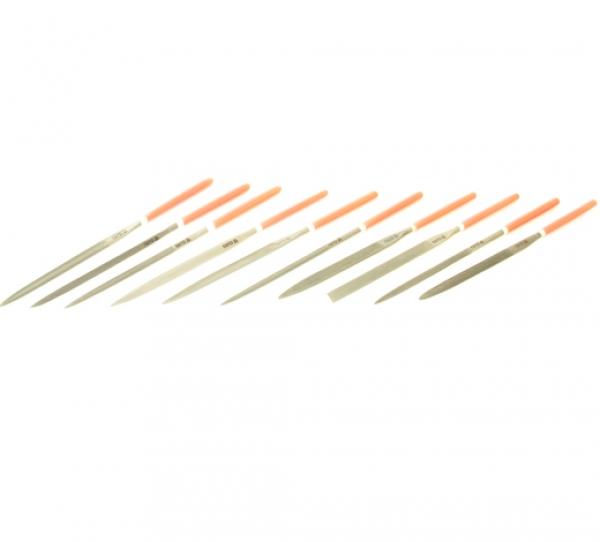 Набор надфилей 10 предметов 4x160x75 мм 25/100
