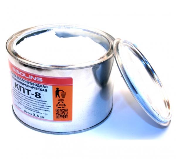 Теплопроводная паста КПТ-8 (жестебанка 3,5 кг.)