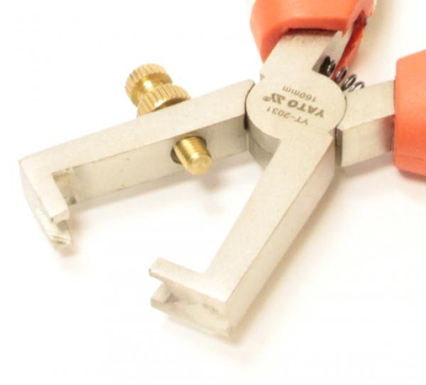 Щипцы для снятия изоляции Yato YT-2031 160 мм