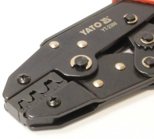 Обжимной инструмент Yato YT-2300 для наконечников проводов 0,5 - 6 мм