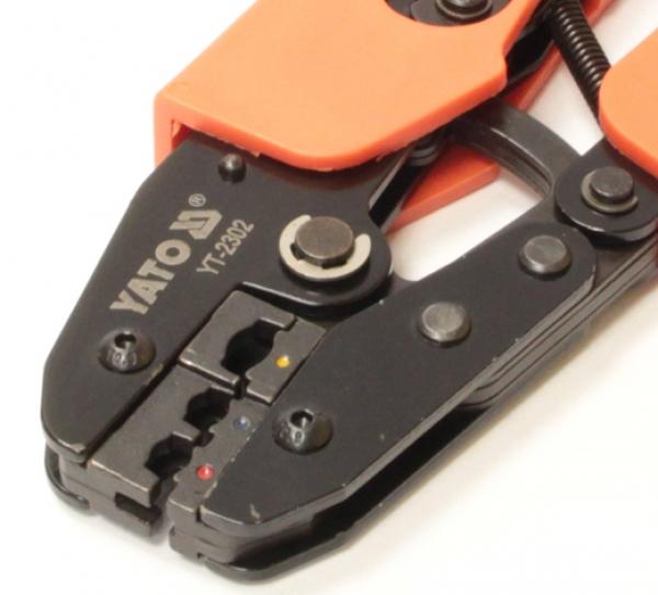 Обжимной инструмент Yato YT-2302 для наконечников проводов 250 мм 22-10AWG