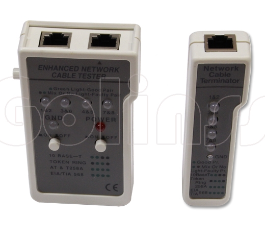 LAN тестер ST-45 (LY-CT001) для BNC RJ-45 (HL-001)