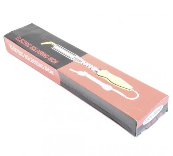 Паяльник ЭПСН с деревянной ручкой 200 Вт