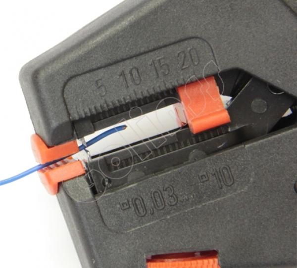 Инструмент для зачистки проводов knipex KN1240200