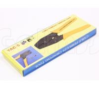 Обжимной инструмент YAC-5, кримпер для обжима трубочных клемм