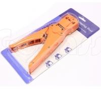Универсальный обжимной инструмент HT468S, кримпер для витой пары, коннекторов RJ