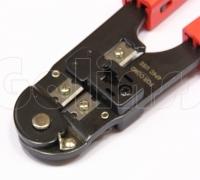 Инструмент обжимной HT-2094, кримпер для обжима телефонных коннекторов 4P-4C
