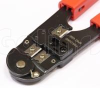 Инструмент обжимной HT-2096, кримпер для обжима телефонных коннекторов 6P-6C