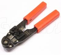 Инструмент обжимной HT-210C, кримпер для обжима коннекторов RJ 45 8P-8C