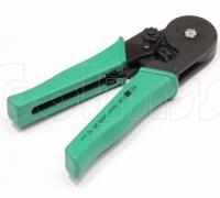 Инструмент обжимной YAC-9, кримпер для обжима трубочных клемм и наконечников проводов