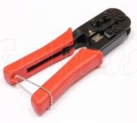 Универсальный обжимной инструмент HT5684, кримпер для витой пары и телефонных проводов, коннекторов RJ11, RJ12, RJ45