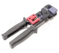 Обжимной инструмент для локальных и телефонных сетей RJ-11, RJ12, RJ45 LY 2070A