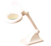 Настольная лампа с лупой 3D + 12D