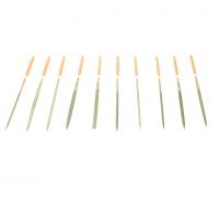 Набор надфилей 10  предметов 3x140x65 мм 25/100