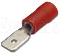 Клемма ножевая для проводов 4,8 х 0,8 мм изолированная