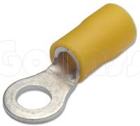 Клемма кольцевая для проводов Ø 5 мм изолированная