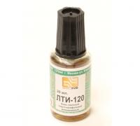 Флюс паяльный ЛТИ-120 20 мл с кистью