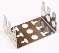 Хомут монтажный для плинтов (рамка) на 3 плинта