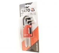Набор шестигранников Yato YT-0500 HEX 9CZ 1,5 - 10 мм CrV