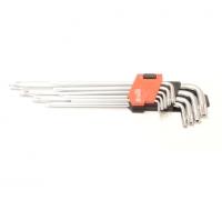Набор ключей TORX 9CZ. T10 - T50 удлиненный Cr-V Yato YT-0512
