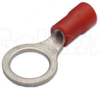 Клемма кольцевая для проводов Ø 8 мм изолированная