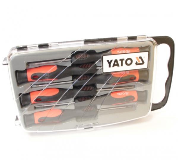 Набор прецизионных крестовых отверток 6 шт Yato YT-2790